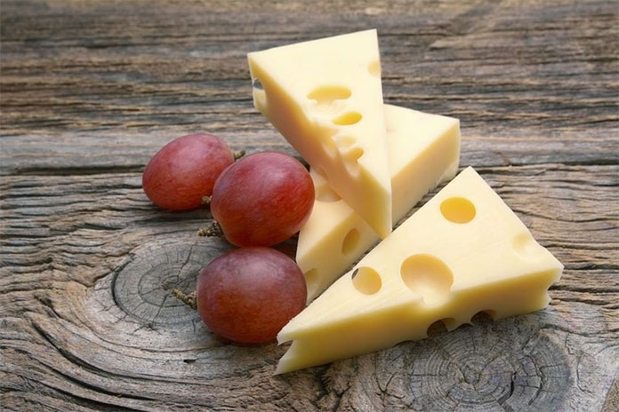 4. Emmental Cheese